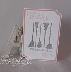 Angela Lorenz: If The Broom Fits, Stampin Up Holiday Catalogue 2015,Sassy Salutations  #stampinup #ifthebroomfits