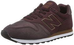 New Balance 373, Zapatillas para Mujer, Rojo (Burgundy), 36 EU