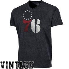 $37.95 '47 Brand Philadelphia 76ers JV Scrum Premium T-Shirt - Navy Blue