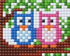 Owls - Pixelhobby / Pixelgift