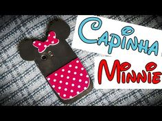 Capinha para celular da Minnie de EVA - YouTube