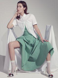 Bella Hadid by Robbie Fimmano for Vogue Australia April 2015