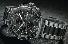 TAG Heuer Formula 1 Calibre 16 Chronograph #watches #tagheuer: http://www.calibre11.com/tag-heuer-formula-1-calibre-16-automatic/