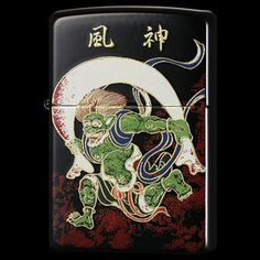Using the traditional Japanese technique, it is of pure Japanese Zippo. 本金蒔絵