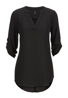 chiffon v-neck tunic top - maurices.com || medium