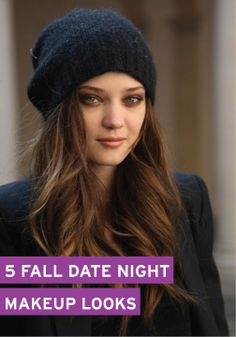 These date night makeup looks are subtle and subdued – perfect to match the fall season.