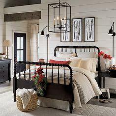 Guest Bedrooms, Master Bedroom, Bedroom Decor, Bedroom Ideas, Cabin Bedrooms, Modern Bedroom, Spool Bed, Design Digital, Ballard Designs