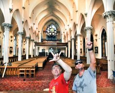Filmmaker seeks hundreds of extras for coronation scene at vacant Lewiston church