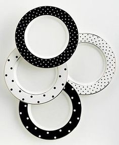I adore this china. My love for polka dot has no boundaries. This website isn't to buy them but I pinned it for future reference.