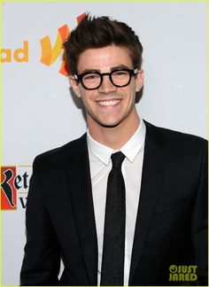 Grant Gustin. Just because he's talented, kind, funny, and a local kid!