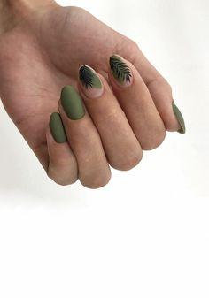 Short Square Nails, Green Nails, Nail Manicure, Long Nails, Beauty Nails, Gel Polish, Hair And Nails, Nail Designs, Hair Makeup