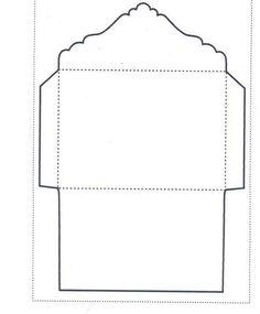 Envelope Template - WS Designs - Tempting Templates in Crafts, Cardmaking & S. ♡ Envelope Template - WS Designs - Tempting Templates in Crafts, Cardmaking & Scrapbooking, Templates, Stencils & Patterns Envelope Design Template, Envelope Template Printable, Envelope Pattern, Envelope Art, Templates Printable Free, Card Templates, Envelope Scrapbook, Printables, How To Make An Envelope