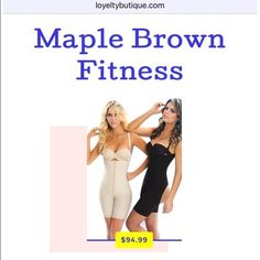 """Body-Shaper/Postpartum Garment/Aesthetic/Surgical Hi Queens ,  Check out the newest Maple Brown """"Body Shaper"""" that can be worn to hold and train your torso into a desired shape. It also can used for aesthetic, medical, or post-partum purposes. Queens order yours today while in stock!! #maplebrownwaistgoals #waistgoals Maple Brown Fitness Intimates & Sleepwear Shapewear"""