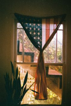 Good morning America.  Part of me really likes this idea, especially with the faded flag...