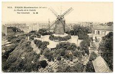 Moulin de la Galette, 1909, Paris Montmartre (18e)