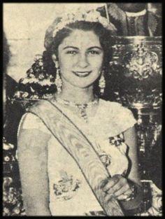 Queen Farida of Egypt #royals