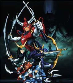 Ronin Warriors - I miss this cartoon