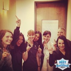 There still is a No. 1 team in town, Studio Dental, voted Best Dentist.
