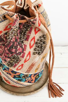 An awesome bag is a must have. This one is stylish and functional! Just enough room to hold the essentials for a one day festival.
