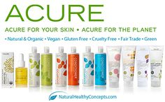 Acure Organics natural health and beauty products are awesome! Read more about why they rock!