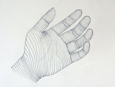 11 best images about Cross contour Hand Drawings on Pinterest ...