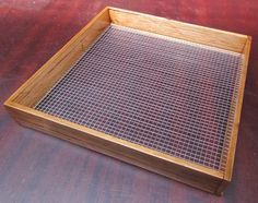 Workshop/soil screen