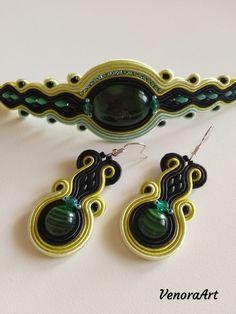 Very green soutache set