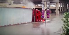 A truck driver was one of at least five people who died during the historic rainfall that flooded much of the Houston metropolitan area Sunday, April 17 and Monday, April Houston Flooding, New Trucks, Trucking News, Sample Resume, Police, Death, Sunday, Natural, Water