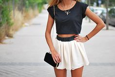 I adore the necklace, but the outfit is adorable all together