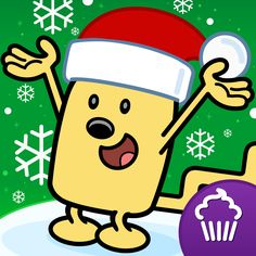 #AppyReview by Jackie Bryla @appymall Wubbzy's The Night Before Christmas is another awesome Cupcake Digital app.  This app will provide the user with lots of Christmas time fun with options for Read To Me, Read & Play, or Just a Book.  Visit the MENU for more selections; view anyone of the thirteen pages by choosing the pages icon, maybe you want to see one of three cute and entertaining Wubbzy Videos that provide song and text, colo
