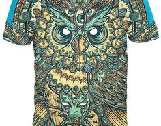 3b6b44961ea Bright God Owl Of Dreams T Shirt Women Men Harajuku Vintage Religion Tshirt  Unisex Summer Casual Tee Shirts Tops