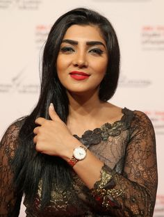 94b4ea653c2f9 Actress Shahad Yaseen attends the opening ceremonanz is zkaMKmay world  premier of Djinn at the Emirates