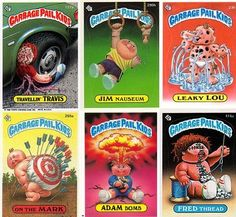 These we the cards to collect in the 80's.