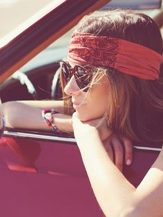 Soul Flower Organic Printed Headband at Free People Clothing Boutique