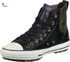 Converse All Star Chelsea LTR Fur Hi W chaussures 6,0 black - Chaussures converse (*Partner-Link)