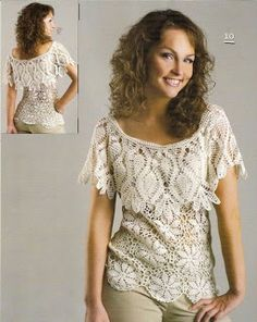 Share Knit and Crochet: T-shirt For Summer Crochet Pattern