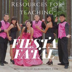 Fiesta Fatal - Resources | Mis Clases Locas