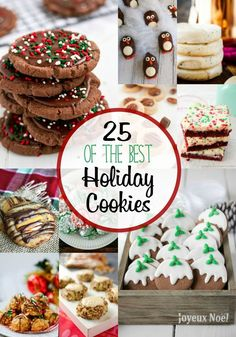 25 Best Holiday Cookie Recipes