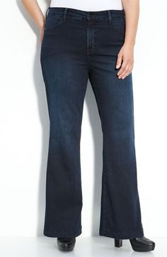 Not Your Daughter's Jeans® 'Faye' Trouser Jeans (Plus)