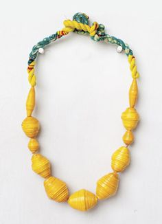 Happy Day necklace from Noonday Collection - check this site out! Fashion + Income for struggling Women!