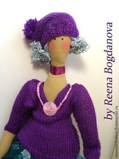 Клара - фуксия,тильда кукла,тильда,ручная работа,ручная работа handmade