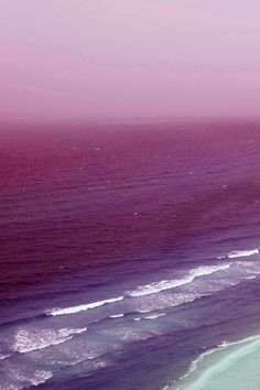 Radiant Orchid Sea Effect
