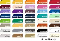 Colors | German