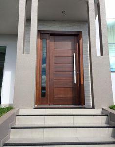 Timber and render #exteriordoorstyles