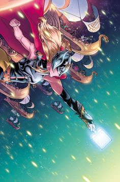 The Mighty Thor #17 - Russell Dauterman, Colors: Matt Wilson