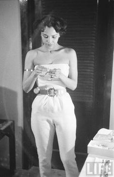 Dorothy Dandridge: jumpsuit icon
