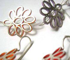 """Bridget Kennedy """"Filigree Flower"""" Earrings"""