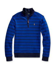 Ralph Lauren Childrenswear Little Boy's & Boy's Cotton Interlock Pullover Polo Ralph Lauren Kids, Kids Online, Hoodies, Sweatshirts, Big Kids, Pullover, Cotton, Jackets, Clothes