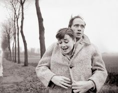 i adore this photo of audrey hepburn and mel ferrer. 1926.