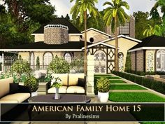 American Family Home 15 by Pralinesims - Sims 3 Downloads CC Caboodle